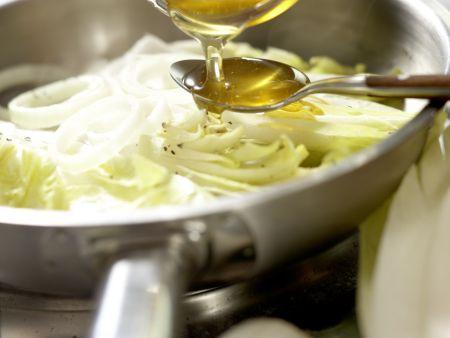 Ziegenfrischkäse-Ravioli: Zubereitungsschritt 10