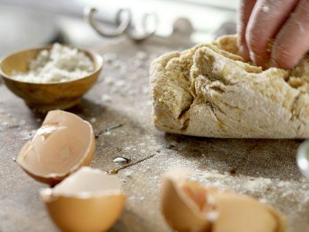 Ziegenfrischkäse-Ravioli: Zubereitungsschritt 2