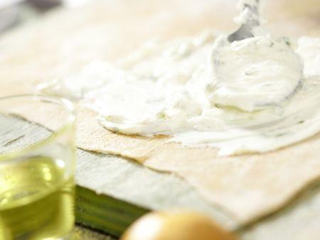 Ziegenfrischkäse-Ravioli: Zubereitungsschritt 5
