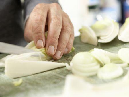 Ziegenfrischkäse-Ravioli: Zubereitungsschritt 9