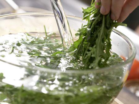 Ziegenkäse-Omelett: Zubereitungsschritt 2