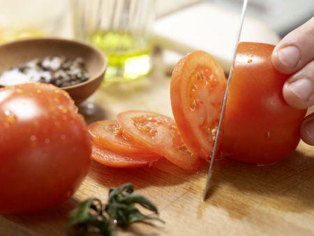 Ziegenkäse-Omelett: Zubereitungsschritt 3