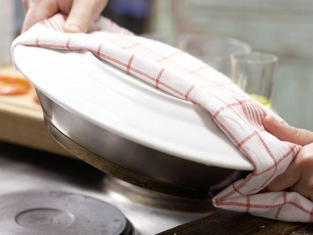 Ziegenkäse-Omelett: Zubereitungsschritt 6