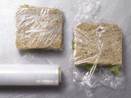 Ziegenkäse-Sandwich: Zubereitungsschritt 4
