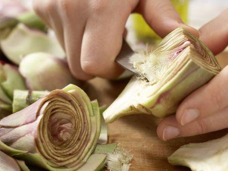 Ziegenkäse-Tortellini: Zubereitungsschritt 11