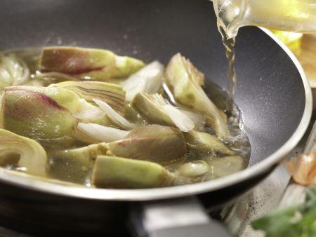 Ziegenkäse-Tortellini: Zubereitungsschritt 12