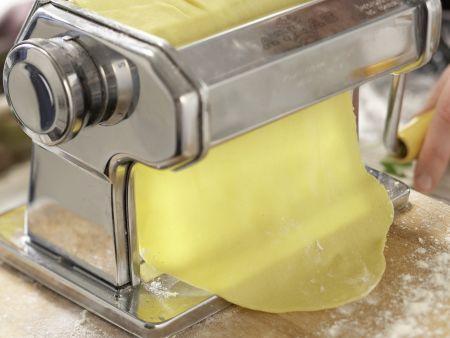 Ziegenkäse-Tortellini: Zubereitungsschritt 5