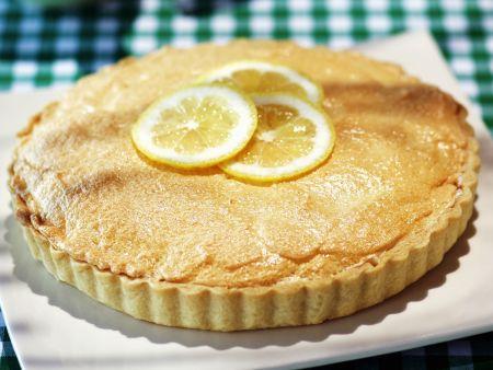 Zitronen-Baiser-Kuchen