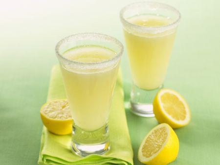 Zitronen-Gin-Cocktail