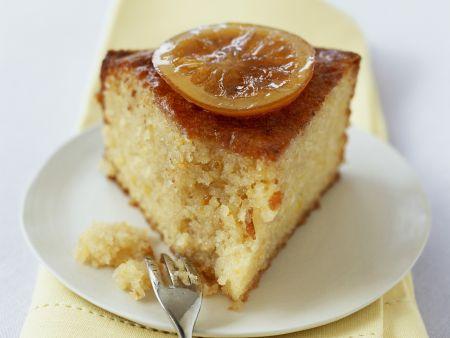 Zitronen-Mandel-Kuchen