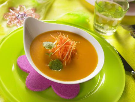 Zitronen-Möhren-Suppe
