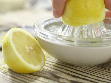Zitronenmousse: Zubereitungsschritt 1