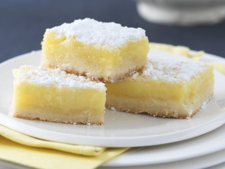 Zitronen-Schnitten