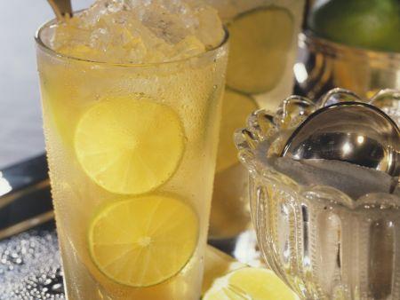 Zitronenbowle (Kalte Ente)