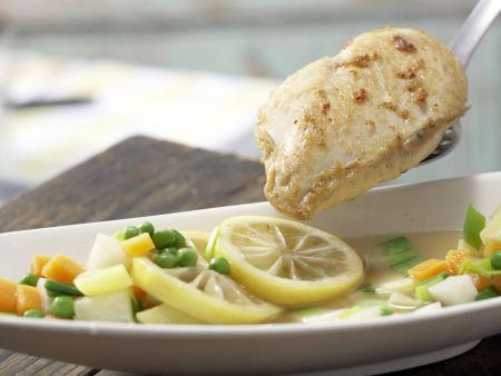 Zitronenhähnchen: Zubereitungsschritt 12