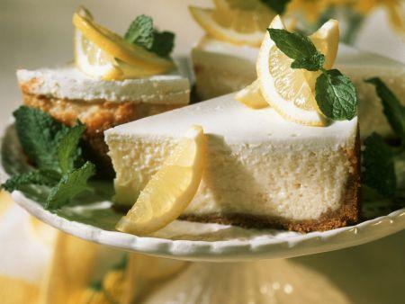 Zitronige Käsetorte