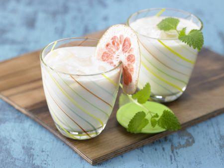 Zitrus-Soja-Drink