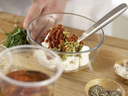 Zucchini-Carpaccio: Zubereitungsschritt 4