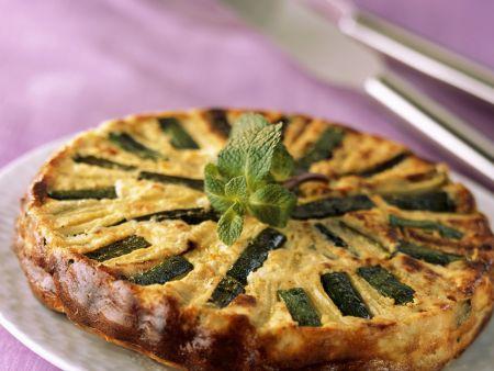Zucchini-Feta-Kuchen