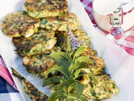 Rezept: Zucchini-Frikadellen