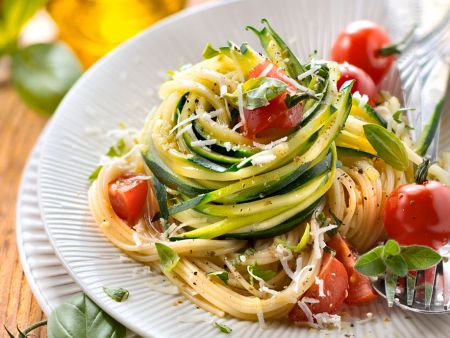 Kochbuch für Zucchini-Nudel Rezepte