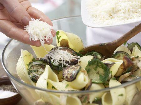 Zucchini-Pilz-Pasta: Zubereitungsschritt 8