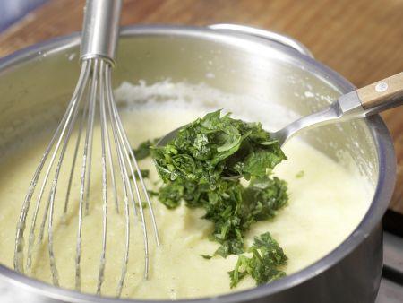 Zucchini mit Polenta: Zubereitungsschritt 3