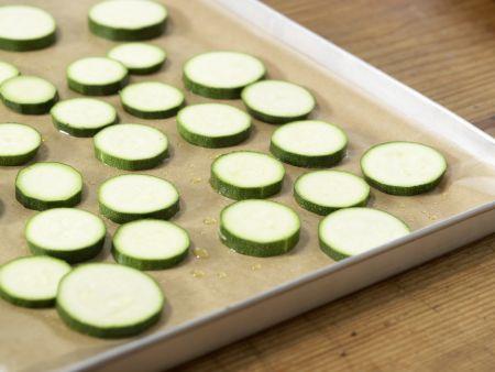 Zucchini mit Polenta: Zubereitungsschritt 5