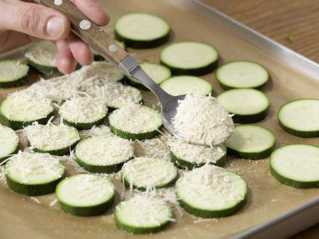 Zucchini mit Polenta: Zubereitungsschritt 6