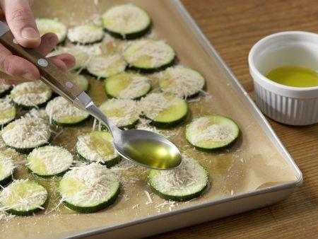 Zucchini mit Polenta: Zubereitungsschritt 7