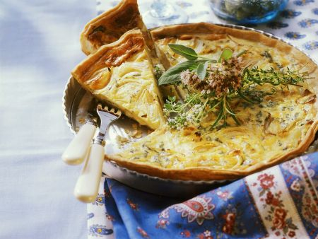 Zwiebel-Käse-Tarte