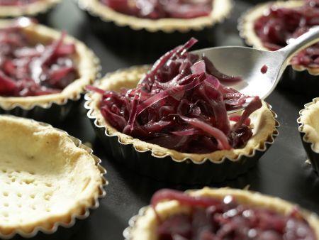 Zwiebel-Tartelettes: Zubereitungsschritt 12