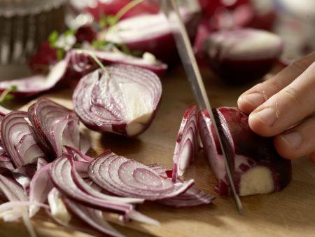 Zwiebel-Tartelettes: Zubereitungsschritt 4