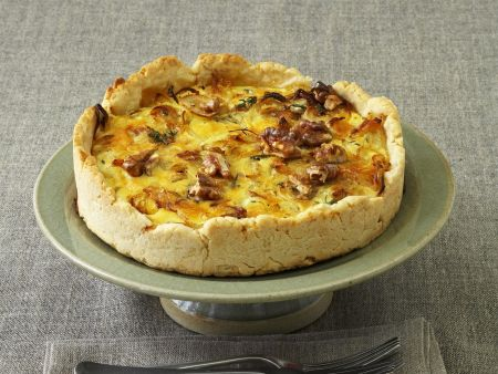 Zwiebel-Walnuss-Quiche