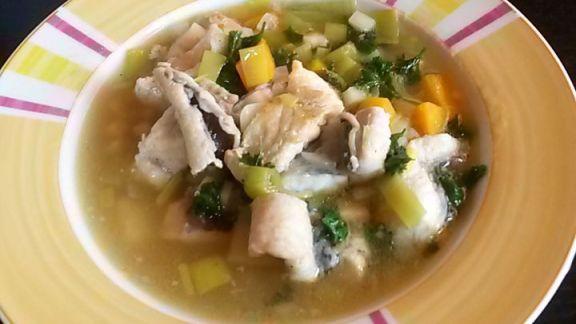 Rezept: Aal-Gemüse-Suppe