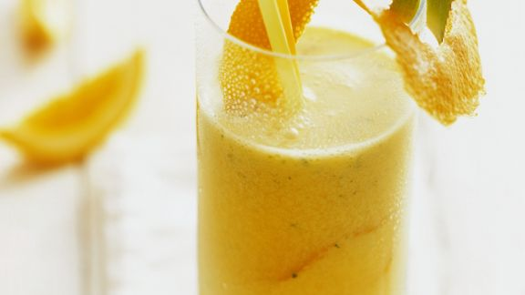 Rezept: Aloe-Drink mit Orange