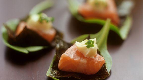 Rezept: Amuse gueule mit Thunfisch