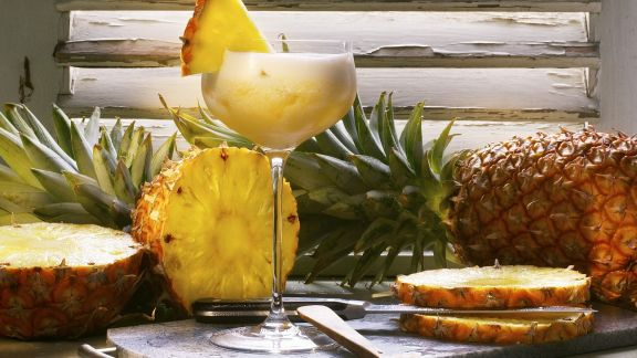Rezept: Ananas-Champagner-Cocktail