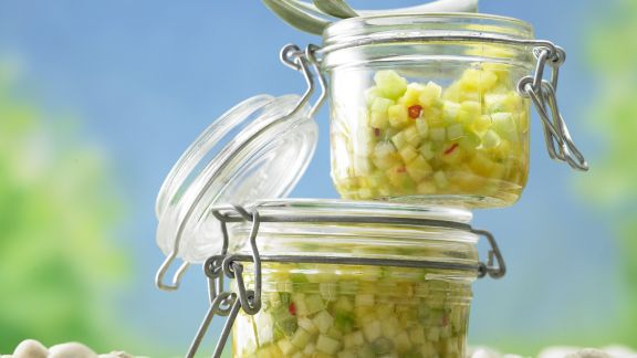 Rezept: Ananas-Gurken-Salsa