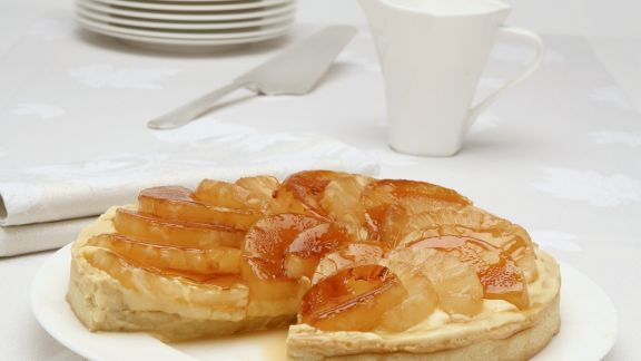 Rezept: Ananas-Karamell-Kuchen