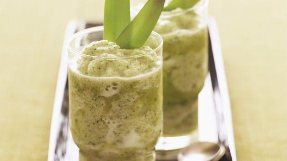 Rezept: Ananas-Minz-Cocktail