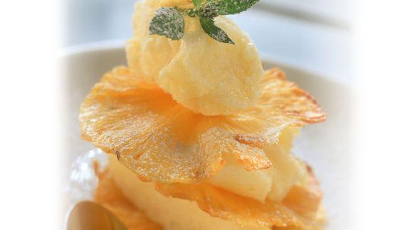 Rezept: Ananas-Sorbet
