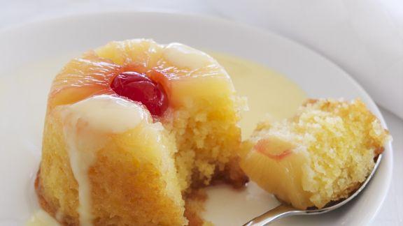 Rezept: Ananaspudding nach englischer Art