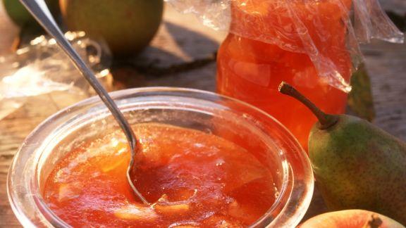Rezept: Apfel-Birnen-Konfitüre