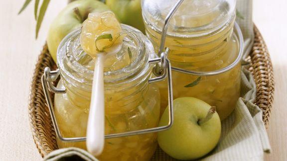 Rezept: Apfel-Birnen-Marmelade mit Estragon