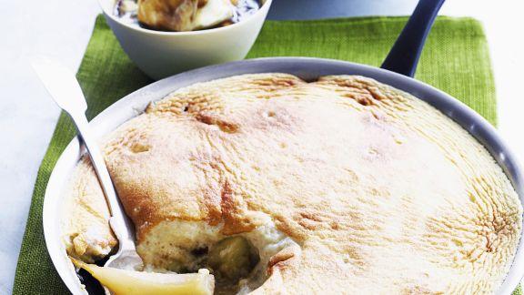 Rezept: Apfel-Birnen-Soufflee