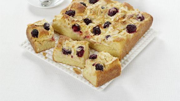 Rezept: Apfel-Brombeer-Kuchen mit Streuseln