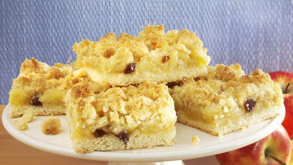 Rezept: Apfel-Eierlikör-Kuchen