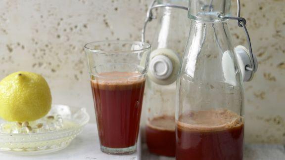 Rezept: Apfel-Gemüse-Saft