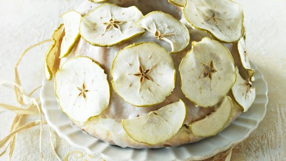 Rezept: Apfel-Gugelhupf
